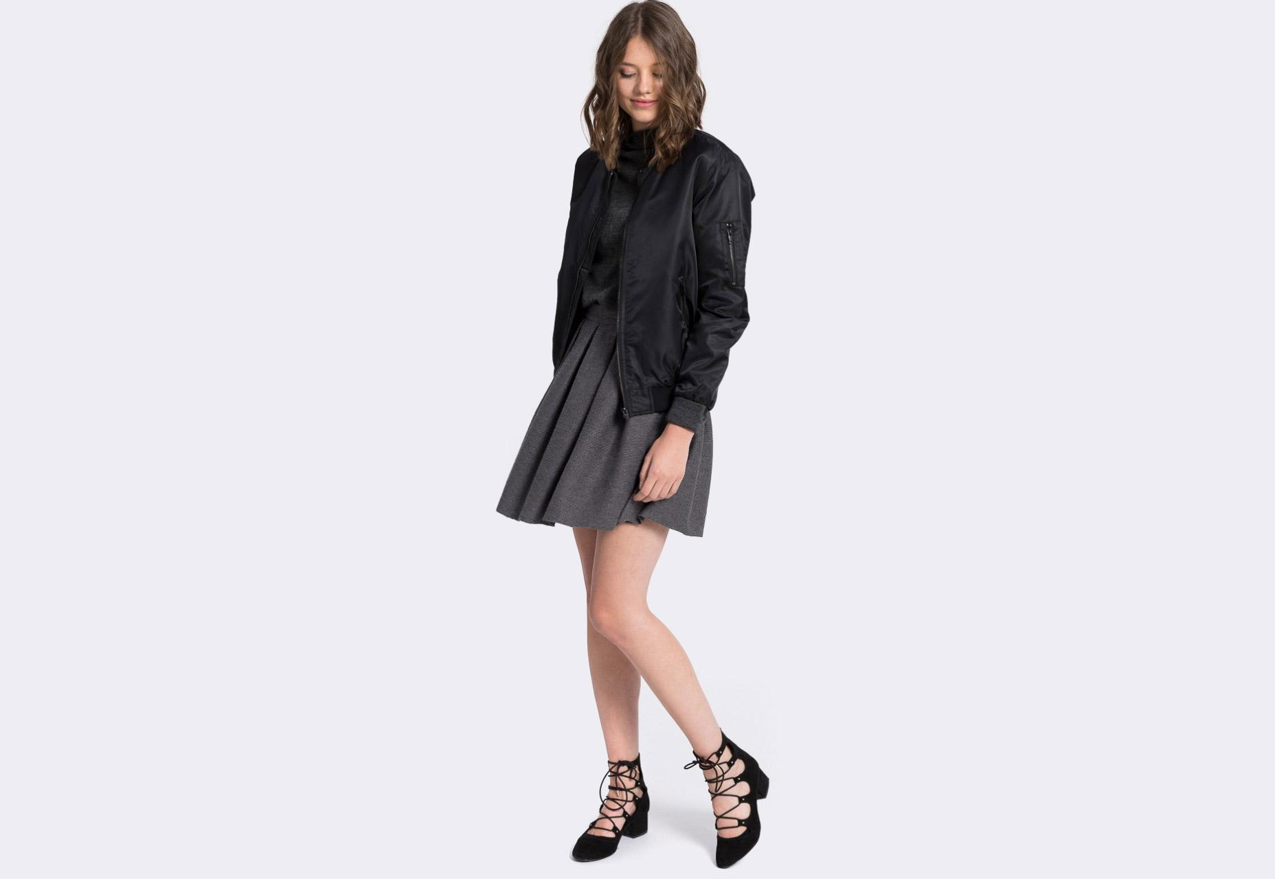 Medicine — dámský bomber — černý — zateplený — bomber jacket — dámská bunda do pasu