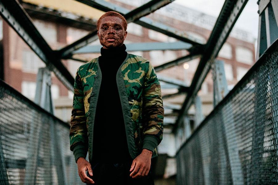 Alpha Industries — pánský bomber — maskáčový — zelený, army green — bunda do pasu — podzim/zima 2016