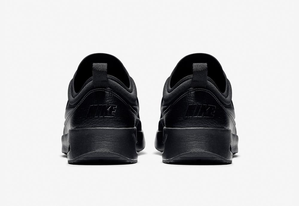 Nike Air Max Thea Ultra Premium — dámské boty — tenisky — sneakers — kožené — zadní pohled