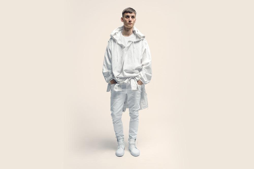 CU4TRO — pánské — kotníkové boty — Norris — vysoké sneakers — kožené — bílé — lookbook