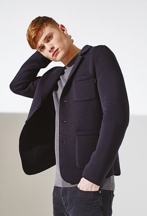 Bench — pánský blejzr (blazer) — neoprenové krátké sako — podzim/zima 2016