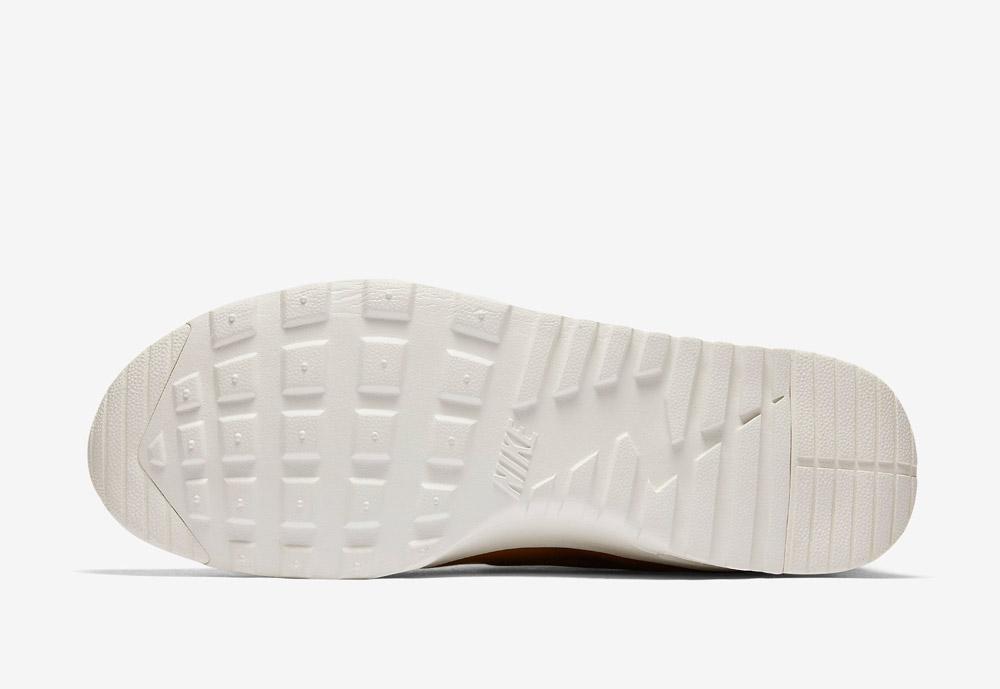 Nike Air Max Thea Mid — bílá podrážka — hnědé, béžové, pískové