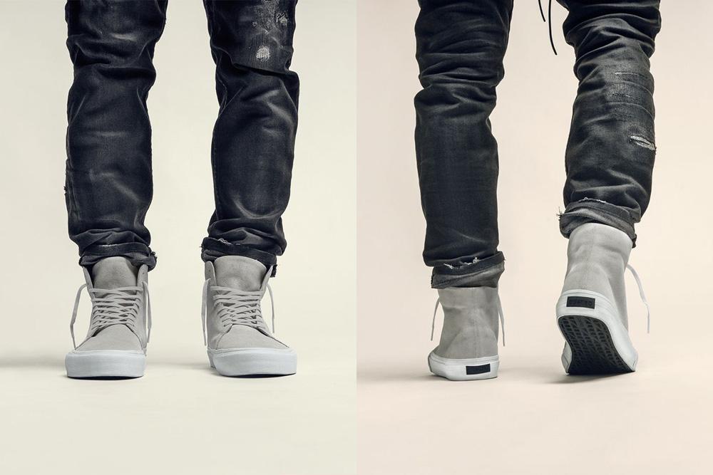 CU4TRO — pánské — kotníkové boty — Norris — vysoké sneakers — kožené — šedé — lookbook