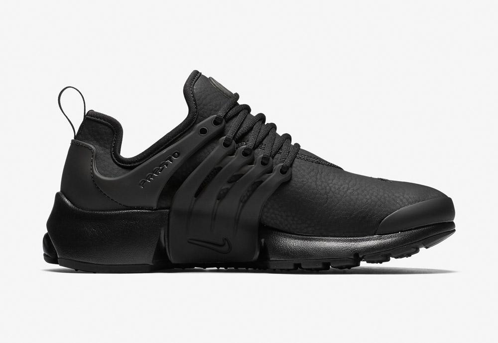 Nike Air Presto Premium — dámské boty — tenisky — sneakers — černé