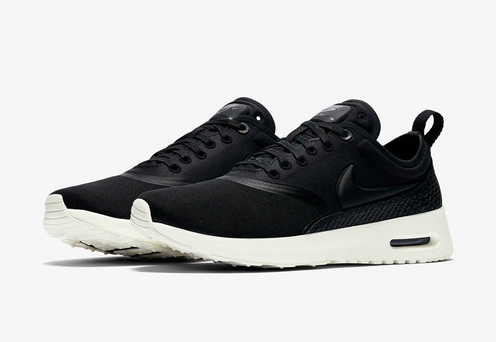 Nike Air Max Thea Ultra Premium — dámské boty — tenisky — sneakers — černé