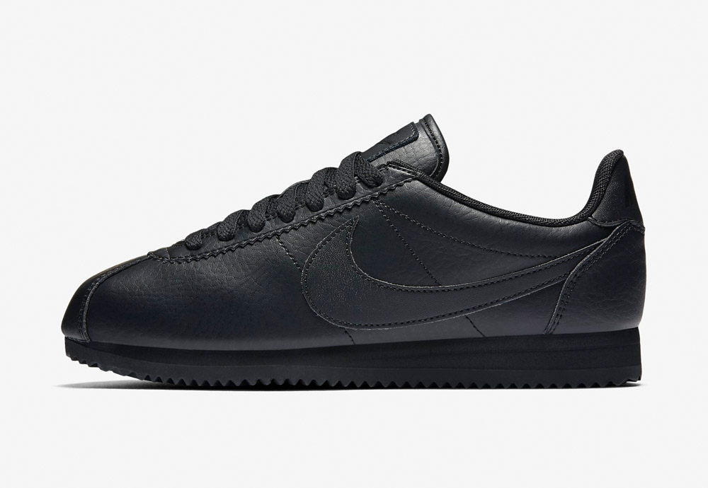 Nike Classic Cortez Premium — dámské boty — tenisky — sneakers — černé