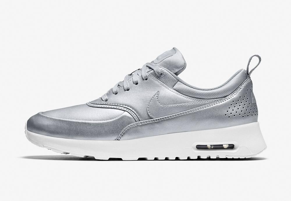 Nike Air Max Thea SE — dámské boty — metalické