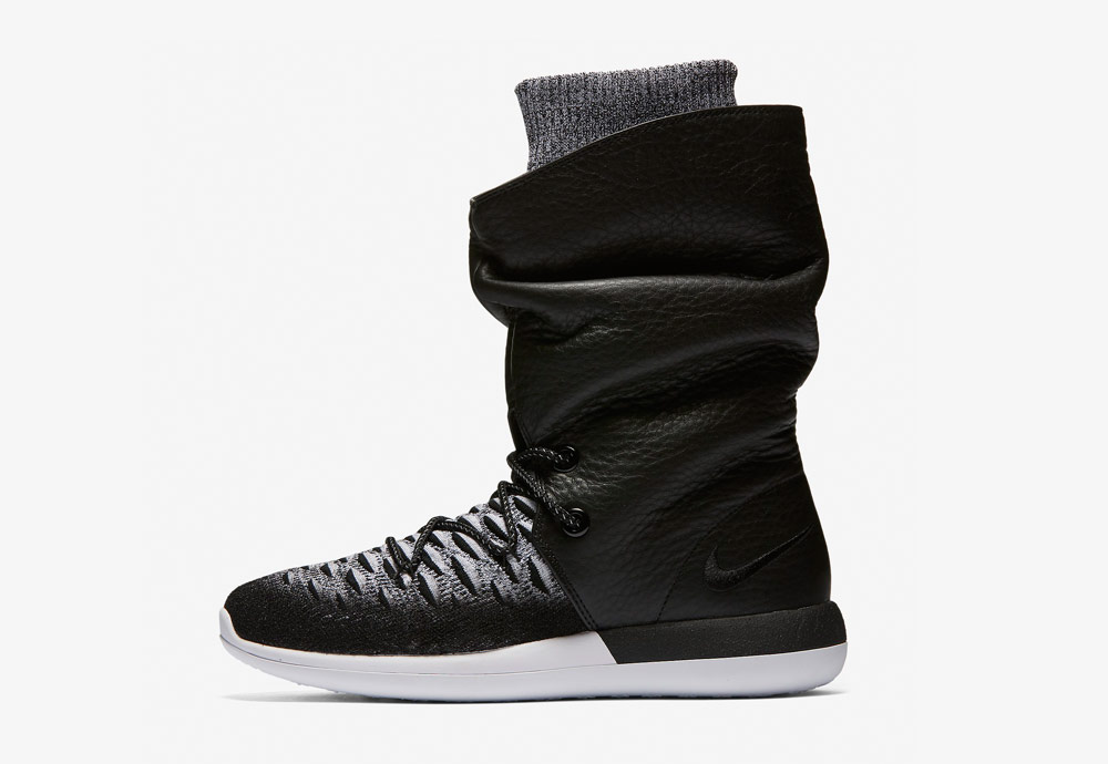Nike Roshe Two Flyknit Hi — dámské kotníkové zimní boty