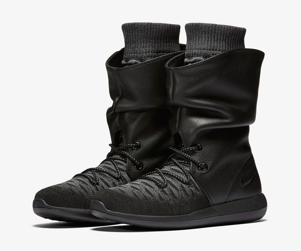 88a21f4b384 Nike Roshe Two Flyknit Hi — dámské zimní boty — kotníkové — vysoké —  voděodolné —