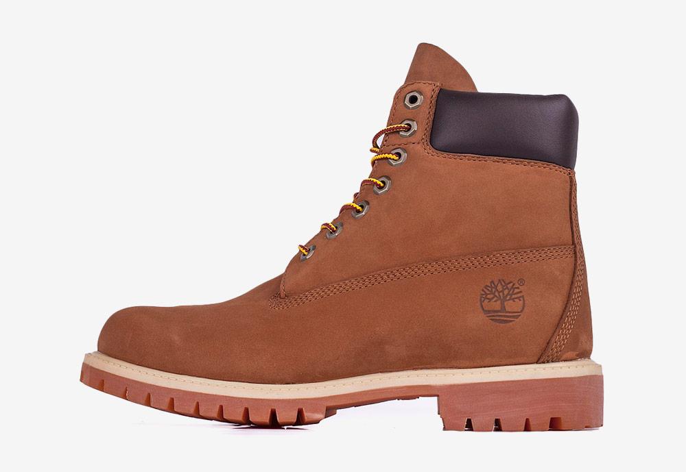 """Timberland 6"""" Premium — zimní boty — pánské — hnědé — boots"""
