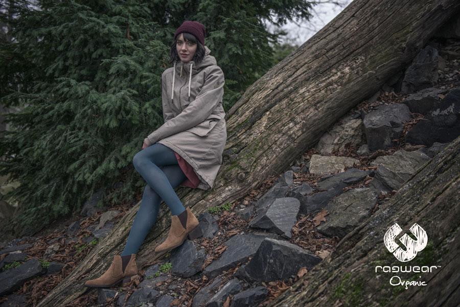 Ragwear — dámská parka s kapucí — podzimní dlouhá bunda — podzim/zima 2016