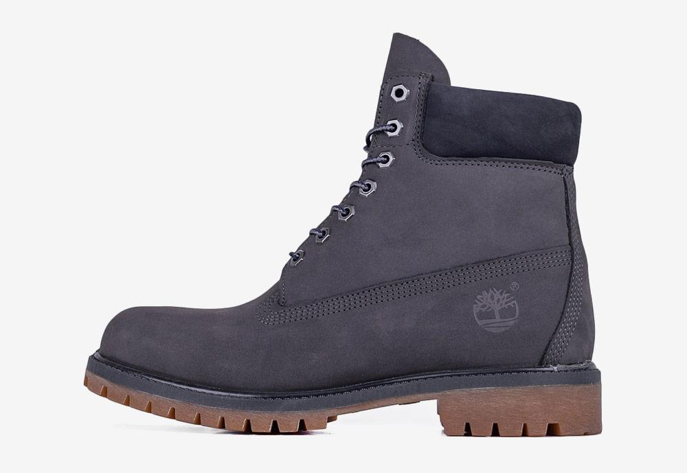 """Timberland 6"""" Premium — zimní boty — pánské — tmavě šedé — boots"""