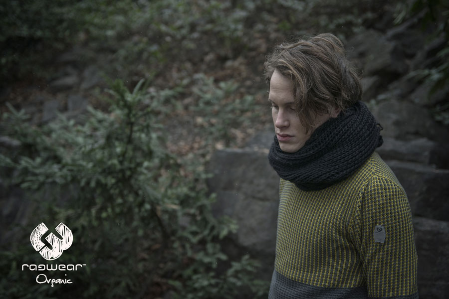 Ragwear — pánský svetr — zelený — podzim/zima 2016