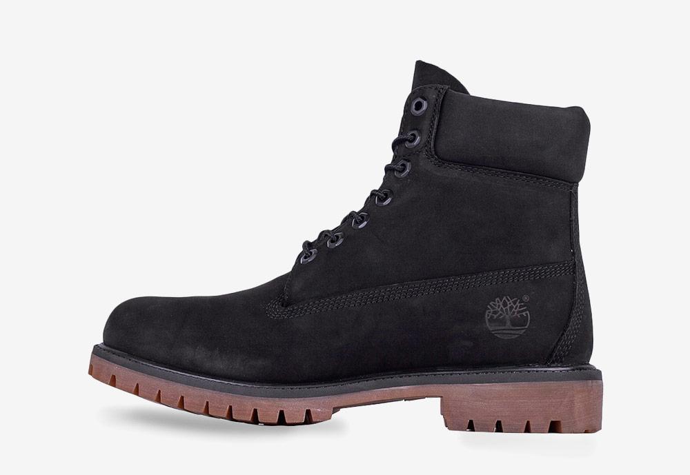 """Timberland 6"""" Premium — zimní boty — pánské — černé — boots"""