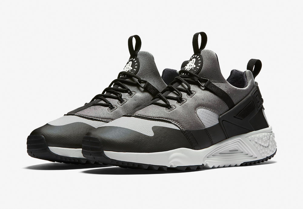 Nike Air Huarache Utility — pánské boty — tenisky — sneakers — šedé