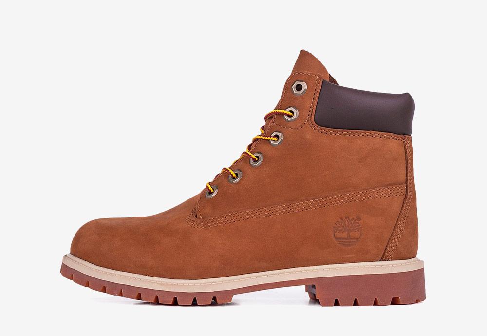 """Timberland 6"""" Premium WP — zimní boty — dámské — hnědé — boots"""
