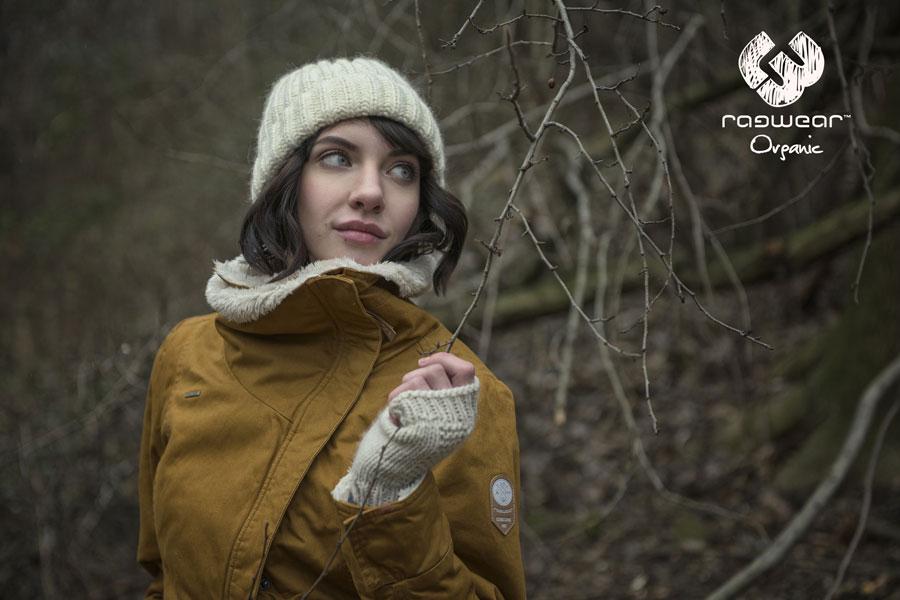 Ragwear — dámská podzimní bunda, hořčicová — hořčicová — podzim/zima 2016