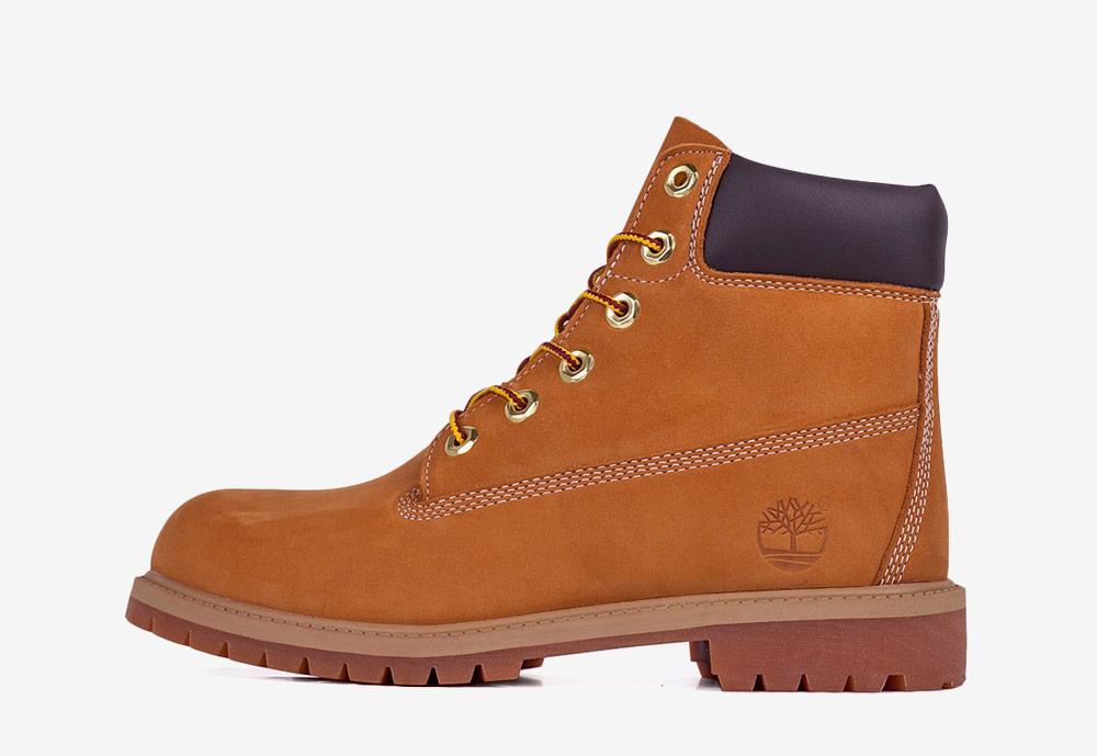 """Timberland 6"""" Premium WP — zimní boty — dámské — světle hnědé, pískové — boots"""