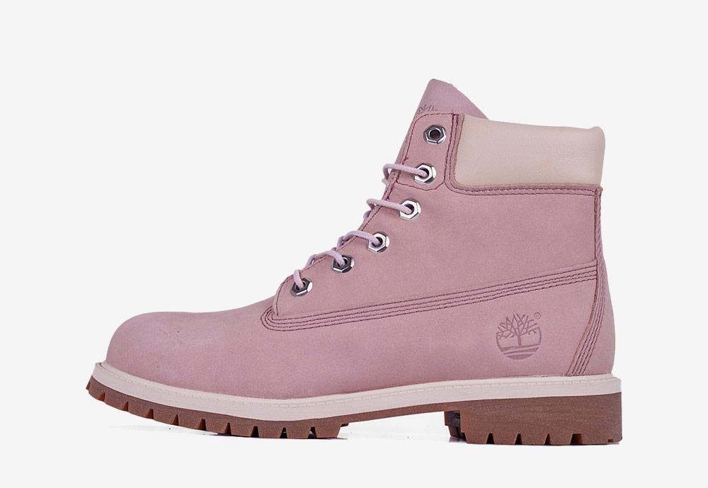 """Timberland 6"""" Premium WP — zimní boty — dámské — světle růžové — boots"""