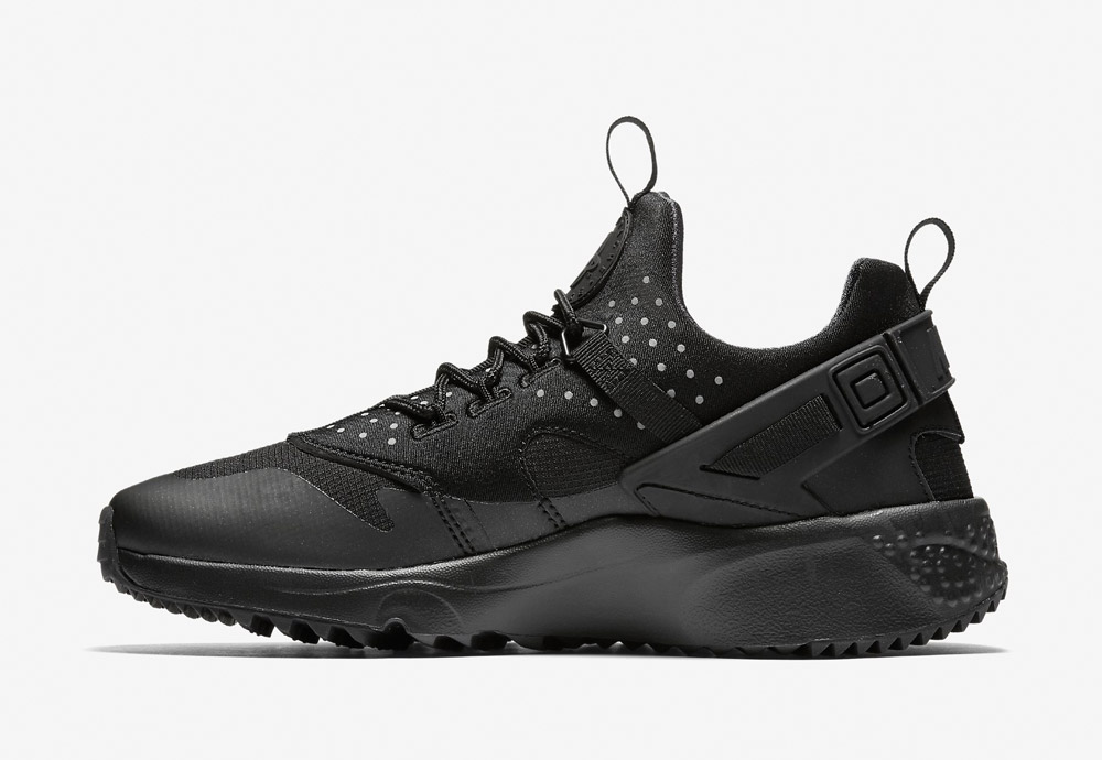 Nike Air Huarache Utility — pánské boty — tenisky — sneakers — černé
