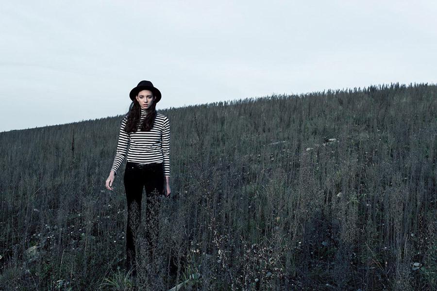 The Hive — dámský rolák — pruhovaný — černo-bílý — dámské oblečení — podzim/zima 2016