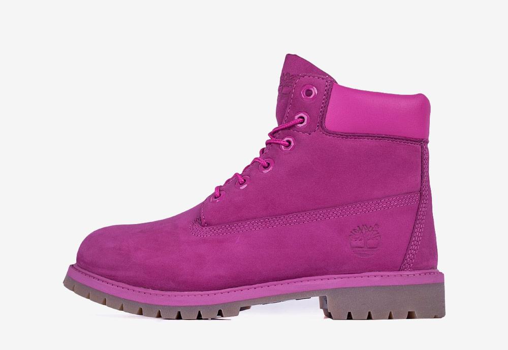 """Timberland 6"""" Premium WP — zimní boty — dámské — růžové — boots"""