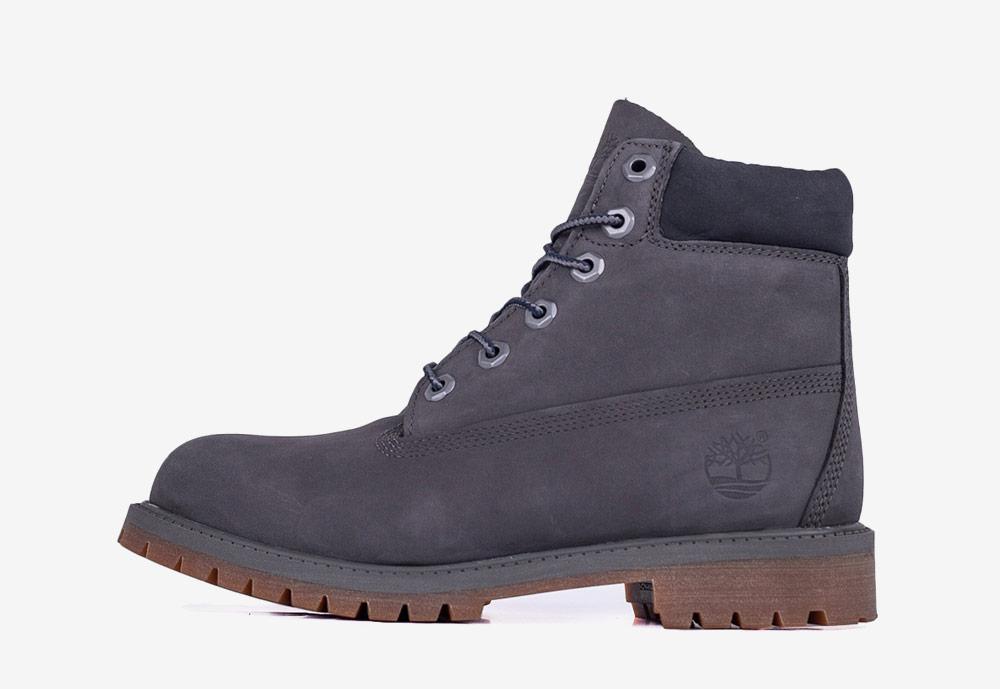 """Timberland 6"""" Premium WP — zimní boty — dámské — šedé — boots"""