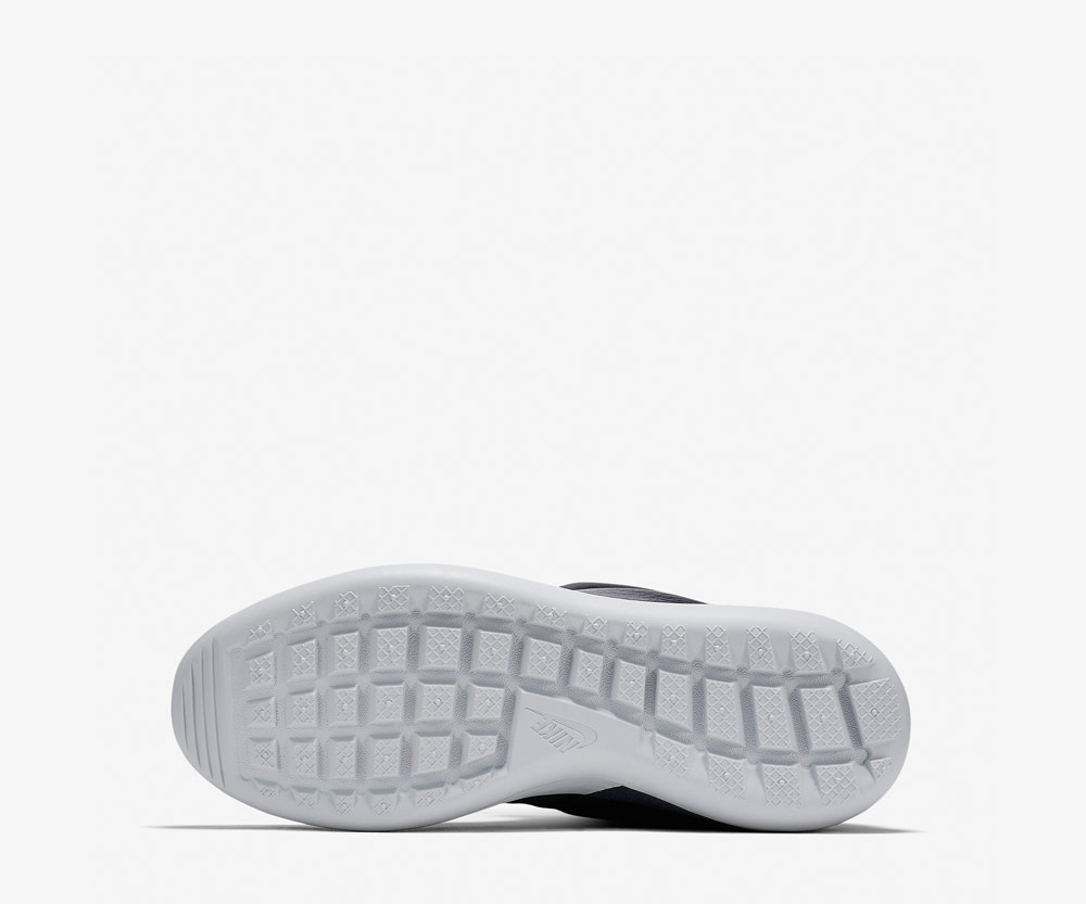 Nike Roshe Two Flyknit Hi — bílá podrážka