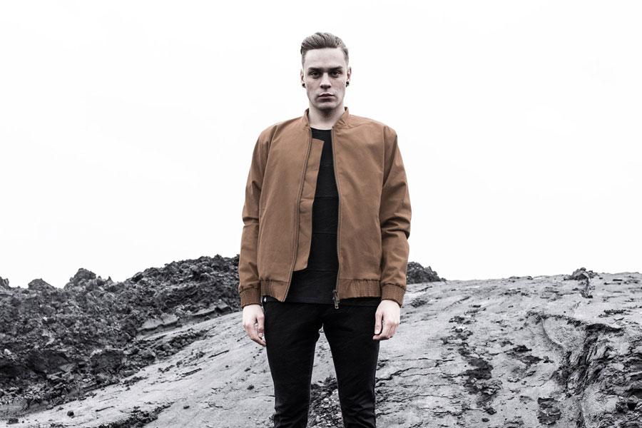 The Hive — pánský bomber — hnědý, béžový — bunda do pasu — pánské oblečení — podzim/zima 2016