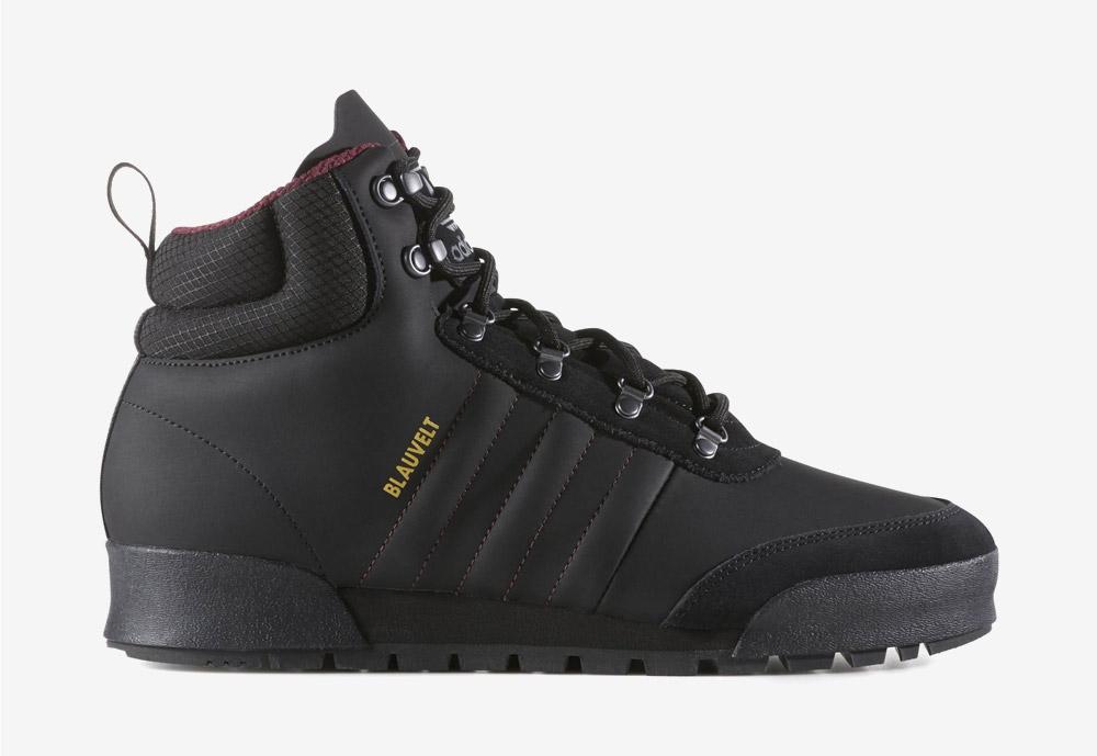 adidas Originals Jake Boot 2.0 — zimní boty — pánské — kotníkové — černé