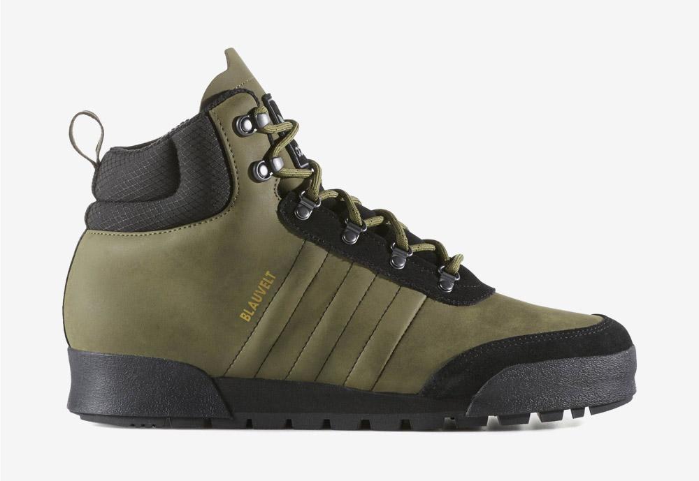 adidas Originals Jake Boot 2.0 — zimní boty — pánské — kotníkové — tmavě zelené, army green