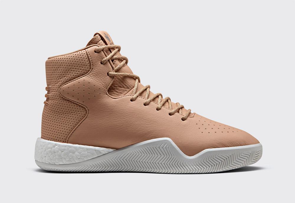 adidas Originals Tubular Instinct Boost — pánské boty — kotníkové — sneakers — zimní — béžové