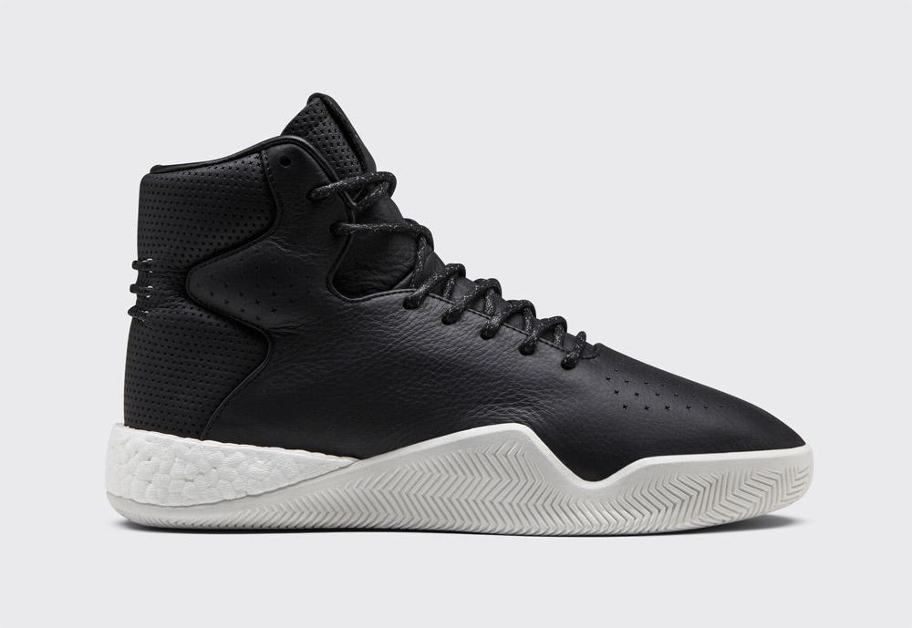 adidas Originals Tubular Instinct Boost — pánské boty — kotníkové — sneakers — zimní — černé