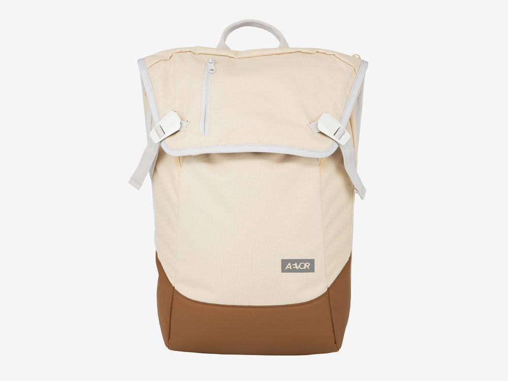 Aevor — Daypack — batoh — městský — školní batoh pro studenty — béžový