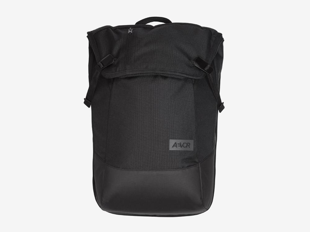 Aevor — Daypack — batoh — městský — školní batoh pro studenty — černý