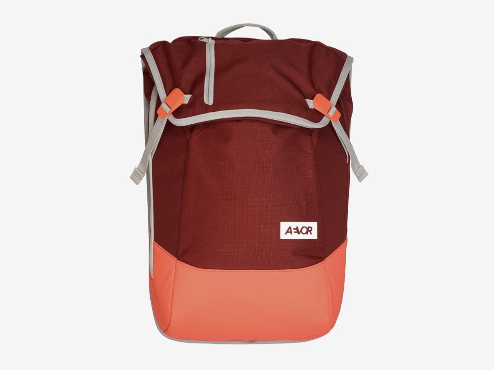 Aevor — Daypack — batoh — městský — školní batoh pro studenty — červený