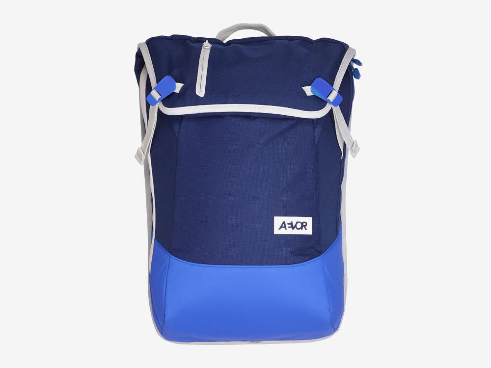 Aevor — Daypack — batoh — městský — školní batoh pro studenty — modrý