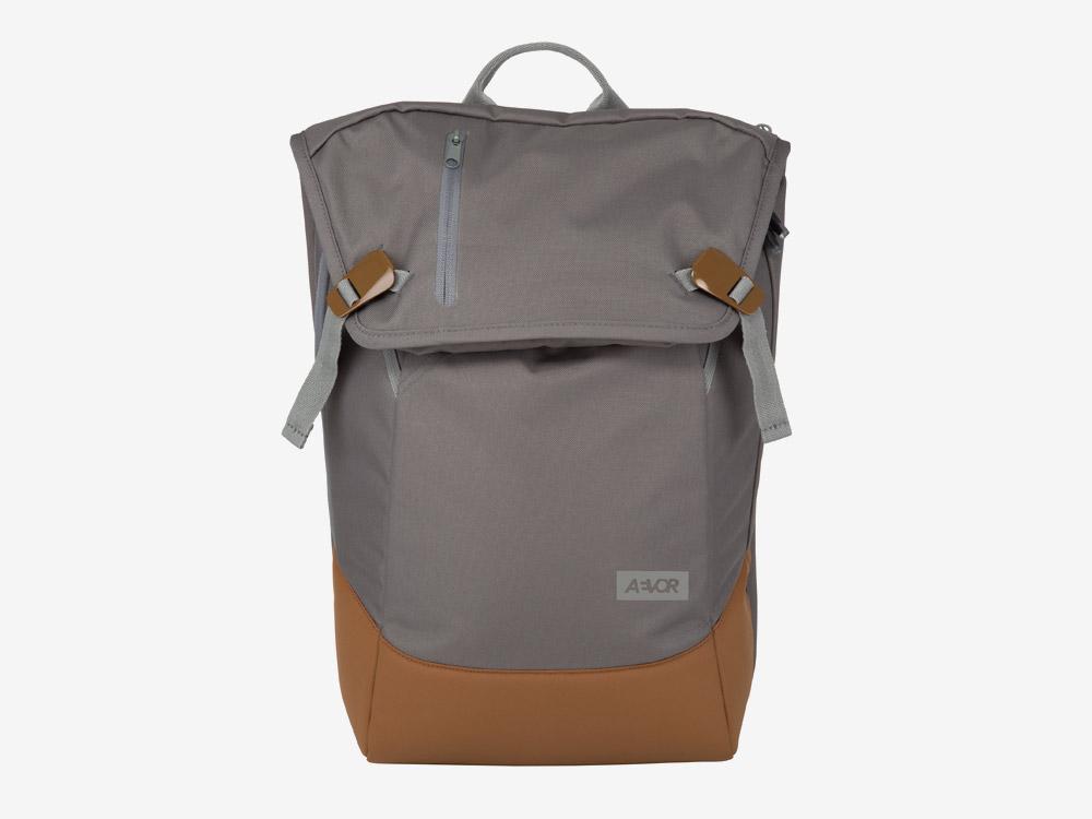 Aevor — Daypack — batoh — městský — školní batoh pro studenty — šedý