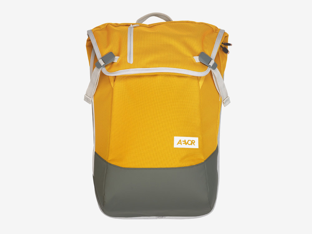 Aevor — Daypack — batoh — městský — školní batoh pro studenty — žlutý
