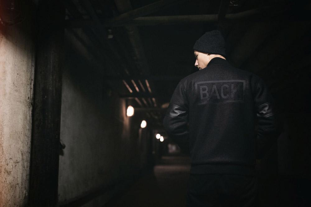 Backyard Cartel — zimní bomber — černý — pánský — podzim/zima 2016