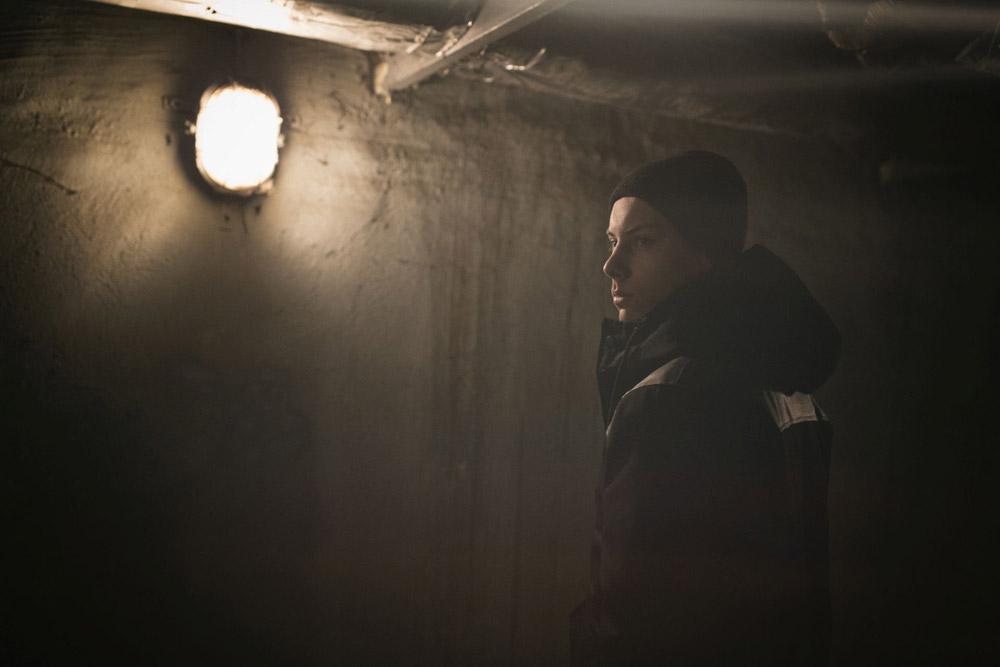Backyard Cartel — zimní bunda s kapucí — černá — pánská — podzim/zima 2016