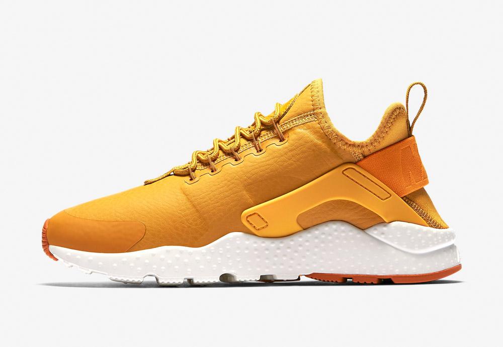 Nike Air Huarache Ultra Premium — dámské boty — tenisky — sneakers — žluté