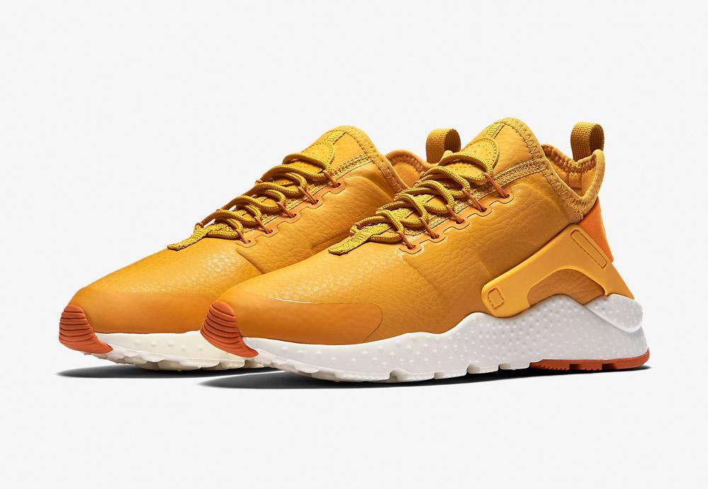 Nike Air Huarache Ultra Premium — dámské tenisky — boty — sneakers — žluté