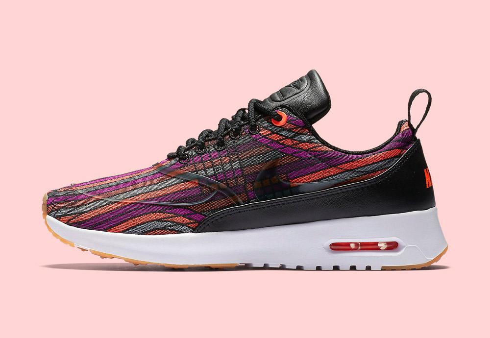 Nike Beautiful x Powerful Collection — Nike Air Max Thea Ultra Jacquard Premium — dámské boty — tenisky — barevné — sneakers