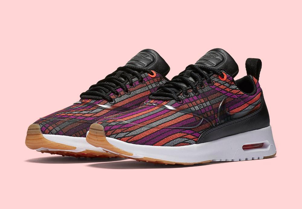 Nike Beautiful x Powerful Collection — Nike Air Max Thea Ultra Jacquard Premium — dámské tenisky — boty — barevné — sneakers
