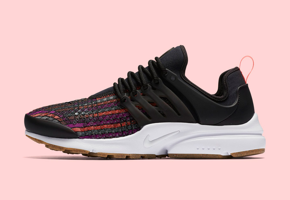 Nike Beautiful x Powerful Collection — Nike Air Presto Jacquard Premium — dámské boty — tenisky — barevné — sneakers