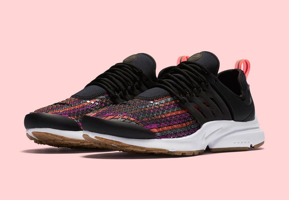 Nike Beautiful x Powerful Collection — Nike Air Presto Jacquard Premium — dámské tenisky — boty — barevné — sneakers