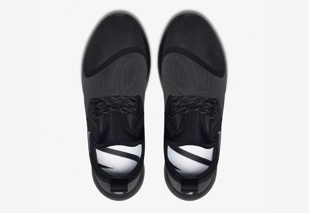 Nike LunarCharge Essential — horní pohled — tenisky — sneakers — sportovní — pánské — černé