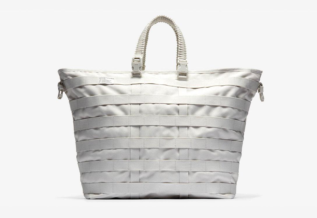 Nike Special Field Air Force 1 — taška — šedá — bílá