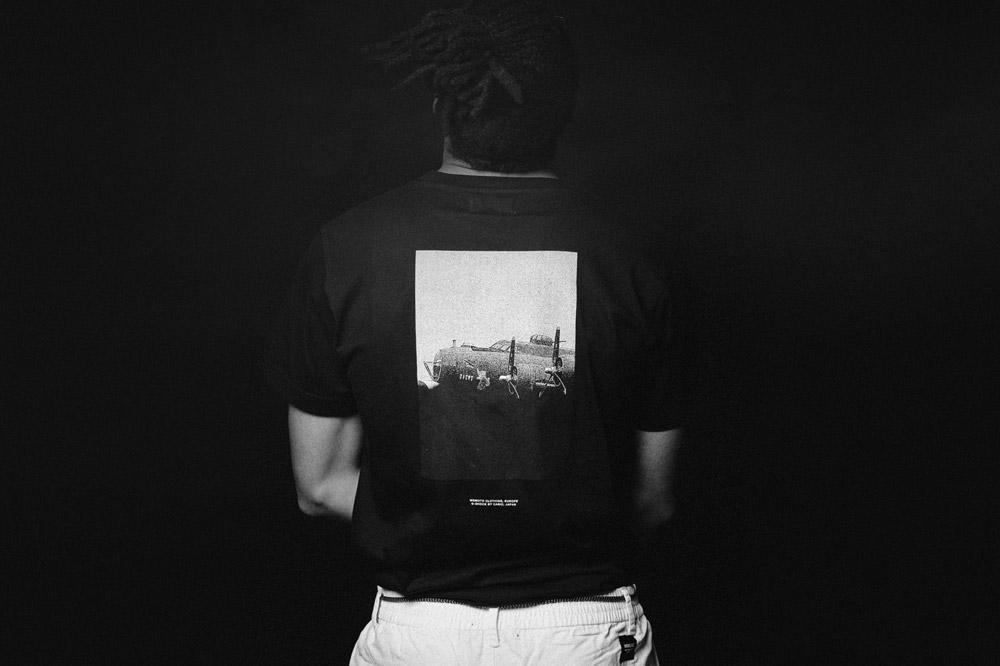 Wemoto x Casio G-shock — černé tričko